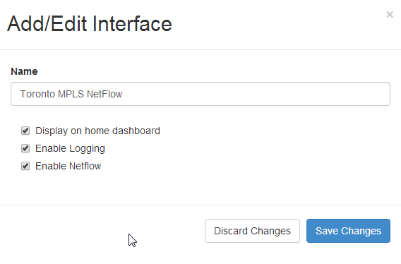 add-edit interface device dashboard netmon 6.0