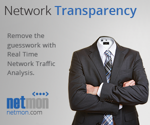 Real Time Network Traffic Analysis - NetworkTransparency