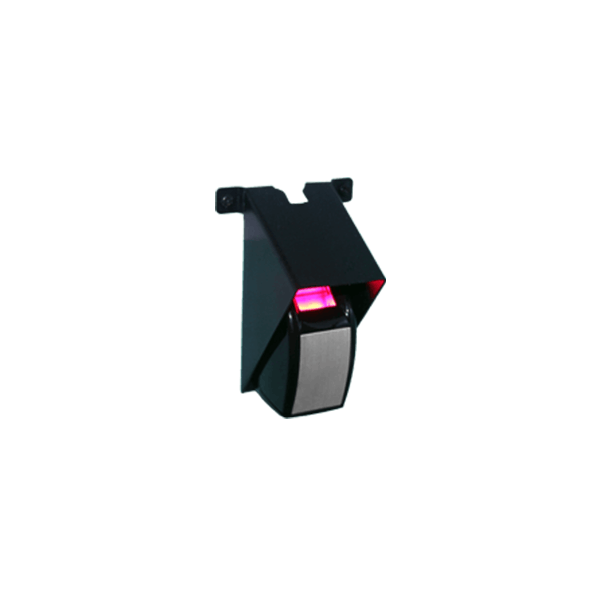 akcp biometric finger print reader with hood for data center security access monitoring sku FPR-1