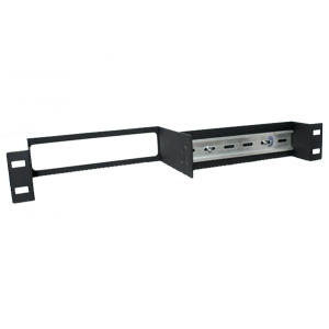 akcp split one unit D I N rail rack mount kit