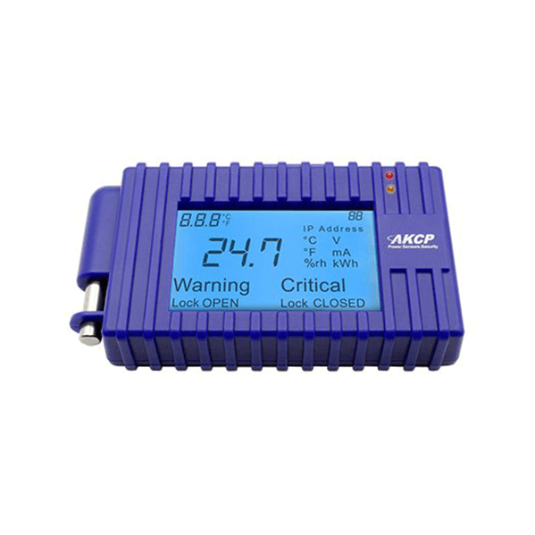 buy akcp programmable LCD display with temperature sensor LCD-TMP