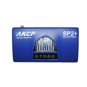 akcp sensorprobe2 plus environmental monitoring device